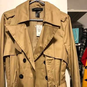 Ashely Stewart short trench coat size 14/16